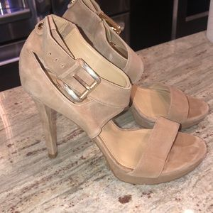 Michael Kors nude high heels
